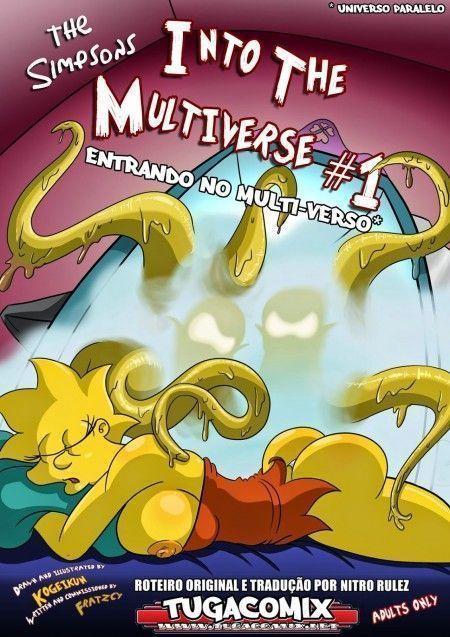 Desenho porno com a familia simpsons em entrando no multiverso