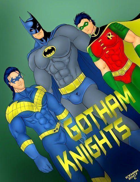 Porno gay desenho do batman