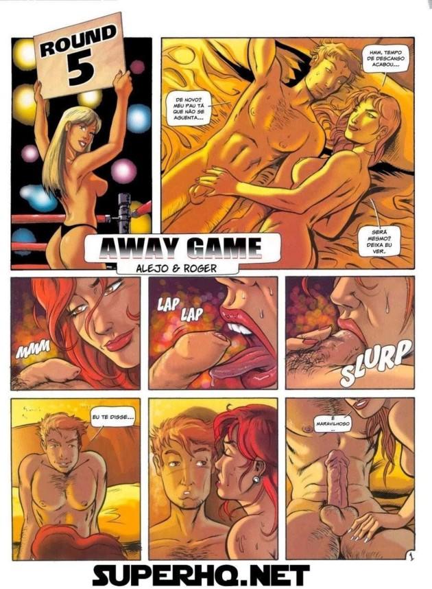 Quadrinhos de sexo comendo as safadas depois do jogo