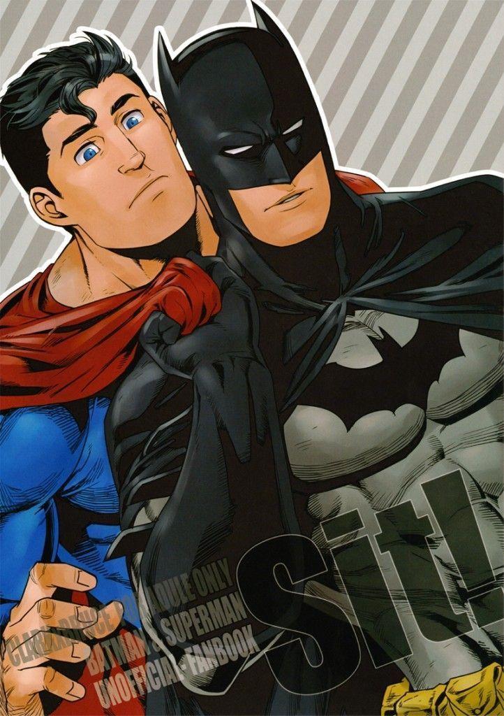 Batman x Superman no quadrinhos hentai gay