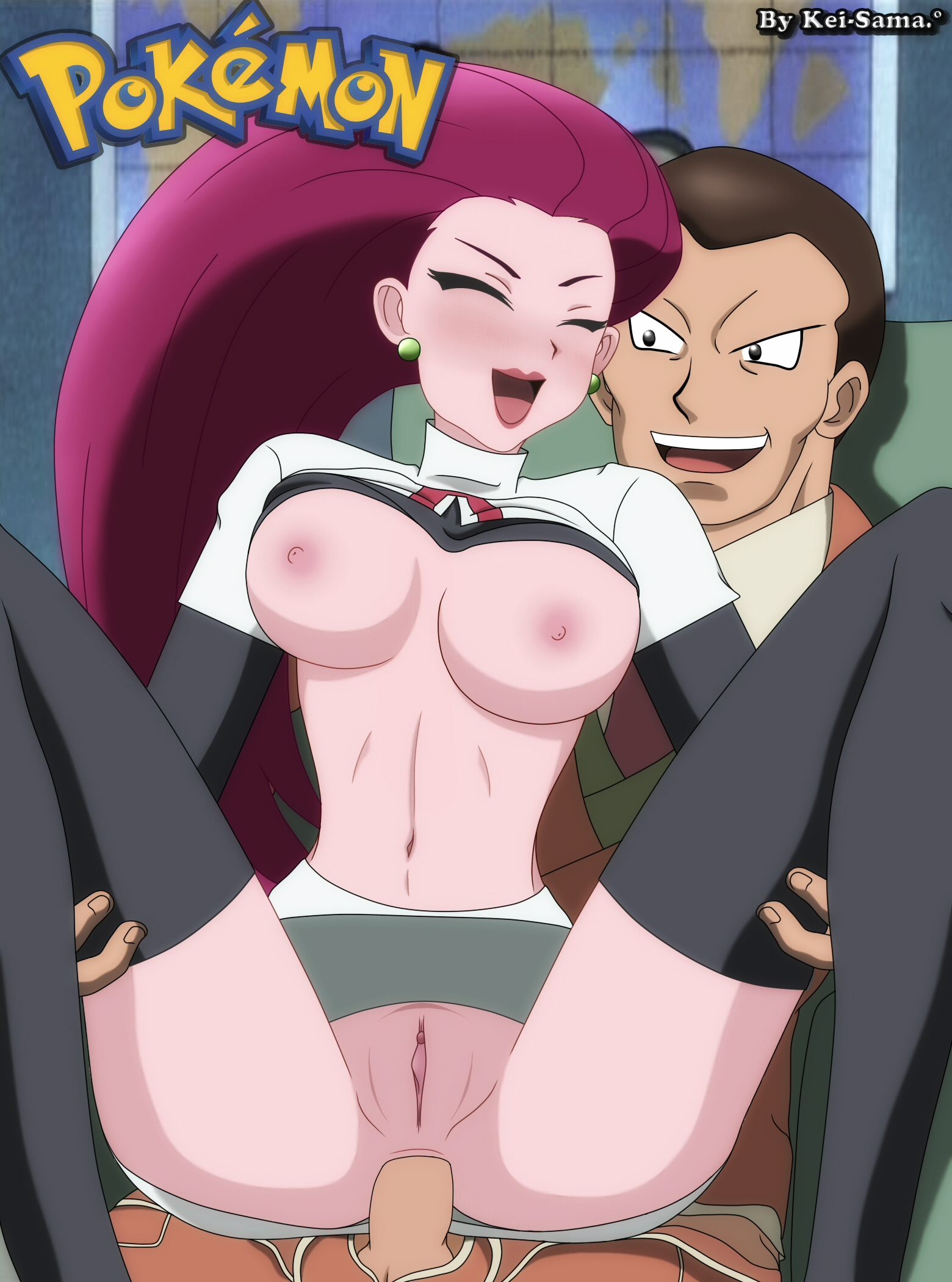 Jessie Pelada jessie em pokemon hentai toda pelada dando | hentai porno
