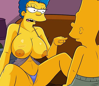 Os Simpsons: Mãe gostosa